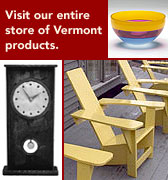 vermont products button