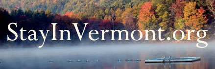 stay in vermont logo